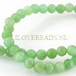 JADE GEMSTONES BEADS - ROUND JADE BEADS 6MM